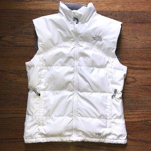 The North Face down vest, pristine condition.